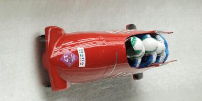 I bob dell'Italia alle Olimpiadi Invernali sono Ferrari