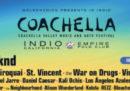 La lineup del Coachella 2018