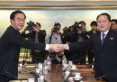 Le due Coree si stanno parlando