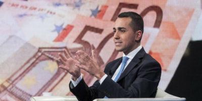 Luigi Di Maio non vuole più fare un referendum sull'uscita dall'euro
