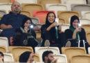 Le foto della prima partita allo stadio per le donne saudite