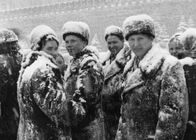 Pellicce, colbacchi e neve
