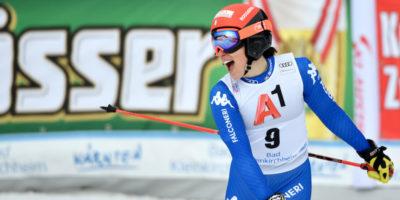 Sci: storico podio azzurro nella discesa libera femminile