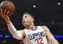 Il cestista Blake Griffin è stato scambiato dai Los Angeles Clippers: andrà ai Detroit Pistons