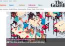 Un po' di pagine dal nuovo Guardian