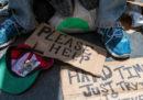 I senzatetto americani spostati da una città all'altra