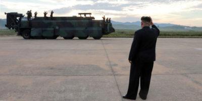 Il missile nordcoreano caduto dove non doveva