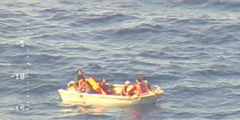 Hanno trovato sette sopravvissuti al naufragio della settimana scorsa a Kiribati - Il Post