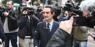 """Berlusconi ha detto che """"crede"""" che Attilio Fontana sarà il candidato del centrodestra in Lombardia"""