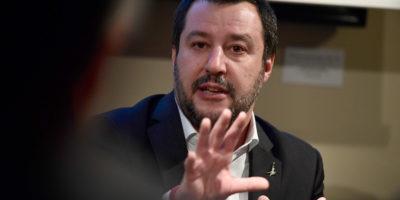 Ci sono «il 50 per cento» di possibilità di tornare a votare, dice Salvini