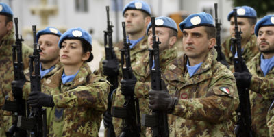 Dove saranno i militari italiani nel 2018