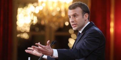 Macron ha un piano contro le fake news