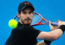 Il tennista scozzese Andy Murray si è ritirato dagli Australian Open per un infortunio all'anca