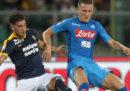 Dove vedere Napoli-Hellas Verona in streaming e in diretta TV