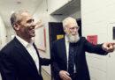 Il primo ospite del talk show di David Letterman su Netflix sarà Barack Obama