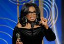Il discorso di Oprah Winfrey ai Golden Globe