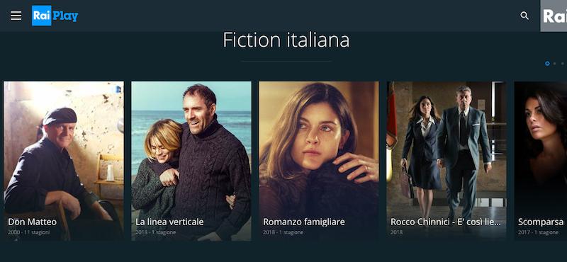 fiction da raiplay