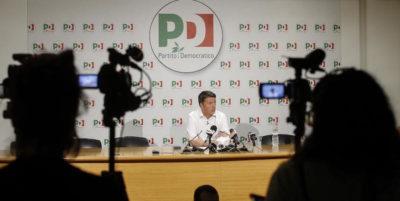 Renzi: «Di Pietro rappresenta una cultura giustizialista che noi non abbiamo mai apprezzato»