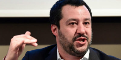 Matteo Salvini ha detto che la Lega è «l'unico antidoto al razzismo»