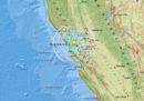 C'è stato un terremoto di magnitudo 4.5 vicino a San Francisco