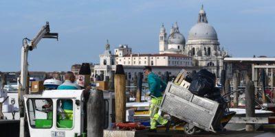 Venezia e il problema dei rifiuti