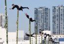 I soliti acrobatici vigili del fuoco di Tokyo