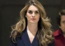 La direttrice della comunicazione della Casa Bianca Hope Hicks ha detto che si dimetterà