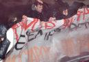 Gli scontri a Torino al corteo contro CasaPound