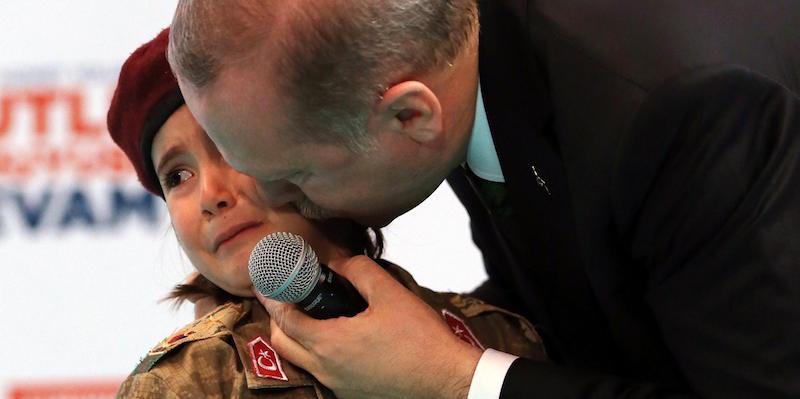 Erdogan Ha Augurato A Una Bambina Di Diventare Una Martire Il Post