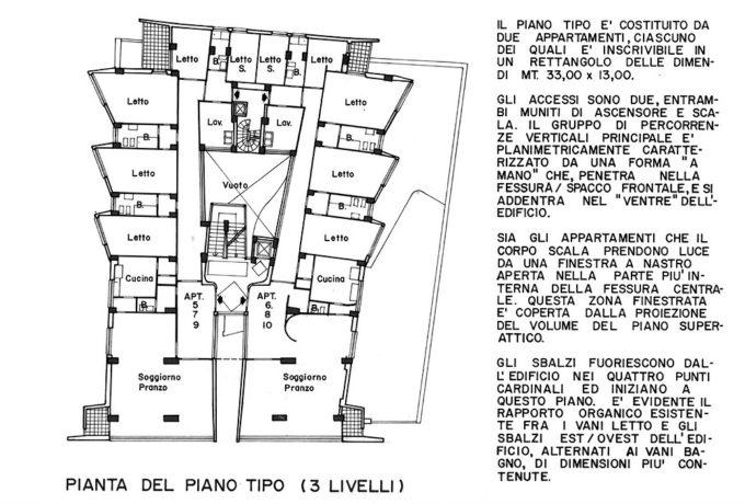 luigi moretti casa albergo 1951 milan architecture in 2018