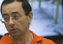 La terza e ultima sentenza per Larry Nassar, ex medico della nazionale USA di ginnastica accusato di molestie, prevede una condanna da 40 a 125 anni di prigione