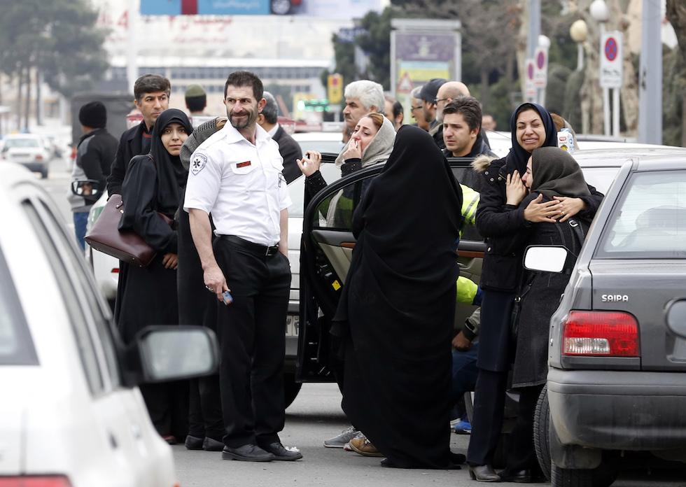 Aereo Privato Caduto In Iran : Un aereo di linea con a bordo persone è caduto in iran