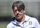 Alberico Evani allenerà temporaneamente la Nazionale di calcio Under-21 in sostituzione di Luigi Di Biagio