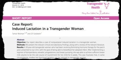 Una donna transgender ha potuto allattare grazie a una cura farmacologica