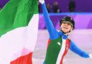 L'Italia ha vinto la medaglia d'argento nella staffetta dello short track alle Olimpiadi invernali