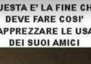 L'uomo che aveva pubblicato l'immagine di Laura Boldrini decapitata si è scusato