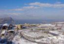 Le foto della neve in Italia