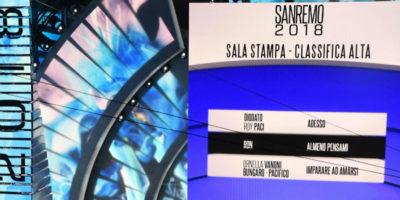 Festival di Sanremo 2018: la classifica della seconda serata