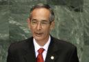 Il presidente di Oxfam International Juan Alberto Fuentes e l'ex presidente del Guatemala Álvaro Colom sono stati arrestati per corruzione