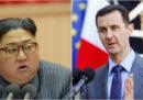 La Corea del Nord ha aiutato la Siria a produrre armi chimiche?