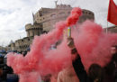 Gli scontri a Roma per la visita di Erdoğan