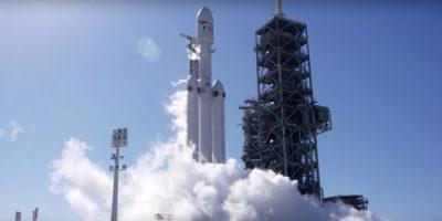 È il giorno del Falcon Heavy