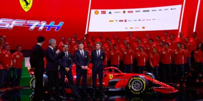 Le foto della nuova Ferrari di Formula 1
