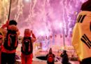 Le foto della cerimonia inaugurale delle Olimpiadi