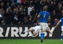 L'Italia di rugby è stata battuta 34-17 dalla Francia nella terza giornata del Sei Nazioni