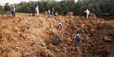 Raid di Israele su Gaza: colpiti 18 obiettivi di Hamas, due morti