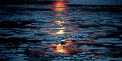 Mentre qui fa un gran freddo, il Polo Nord è più caldo