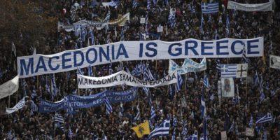 In Grecia si protesta contro il nome della Macedonia
