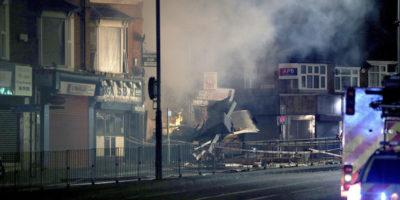 Gran Bretagna, esplosione edificio: 4 feriti gravi