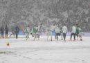 Juventus-Atalanta, posticipo della 26ª giornata di Serie A, è stata rinviata per neve